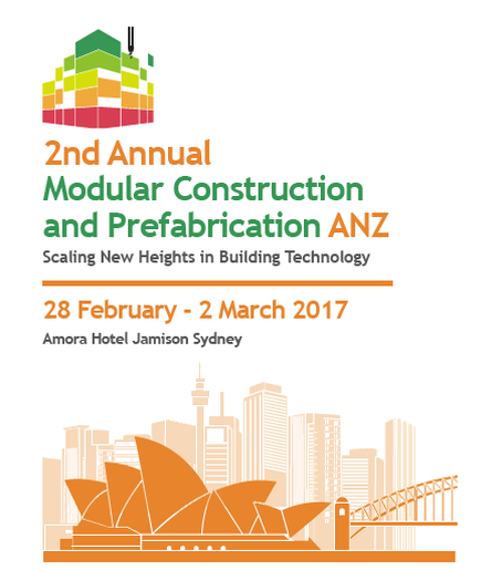 Modular Construction and Prefabrication ANZ conference