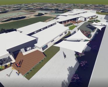 Preston North East Primary School - External Render