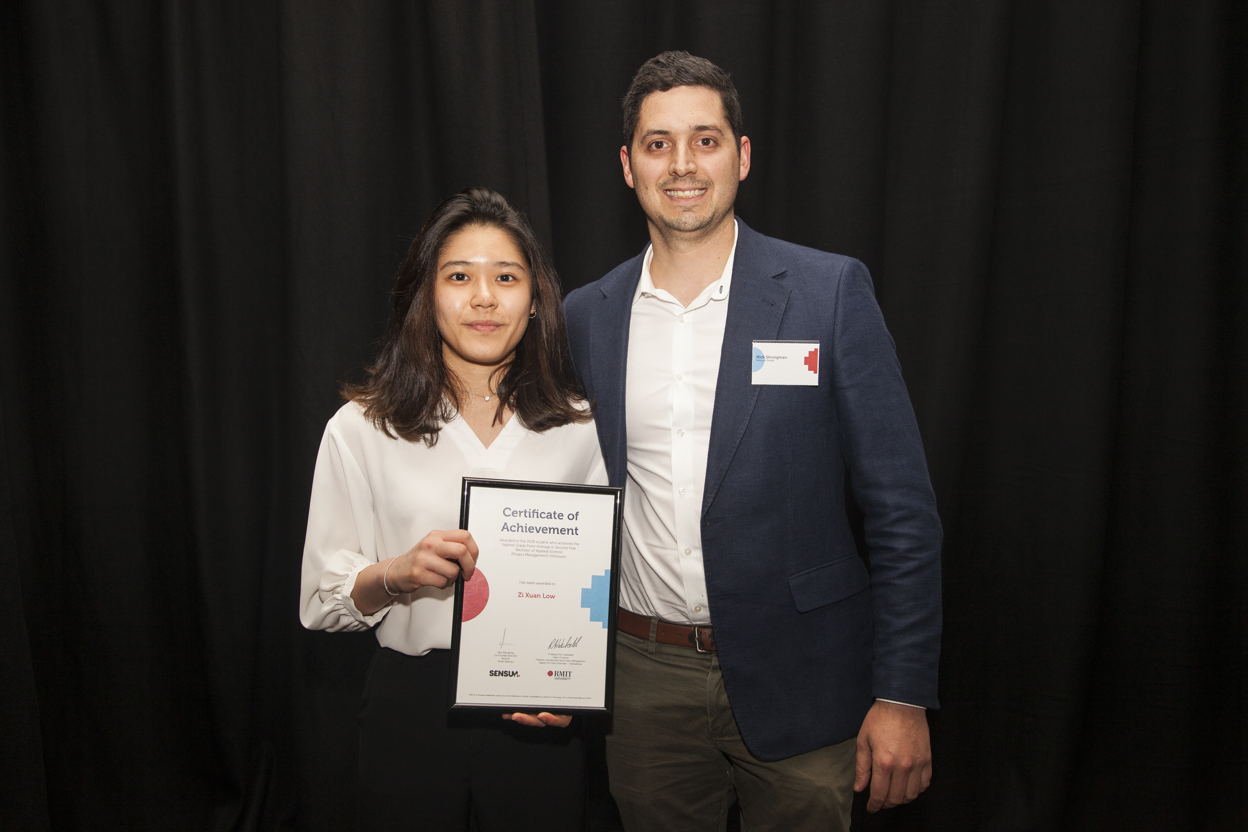 RMIT University Property, Construction and Project Management Awards
