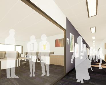 03 Glenroy College - Senior Learning Centre Interior